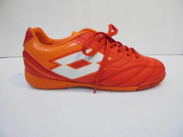 (特價出清) LOTTO 兒童室內平底 足球鞋 SPIDER IX ID JR LTR5563