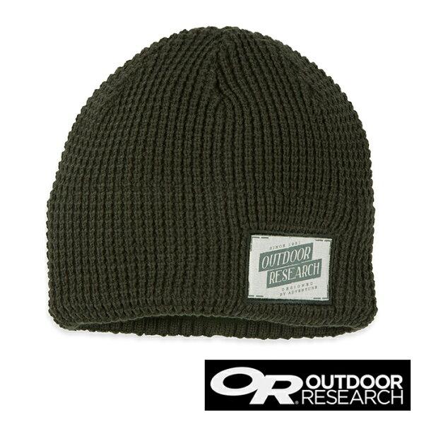 Outdoor Research TOASTY 刷毛保暖針織帽『橄欖綠』86435│旅行│毛線帽│戶外