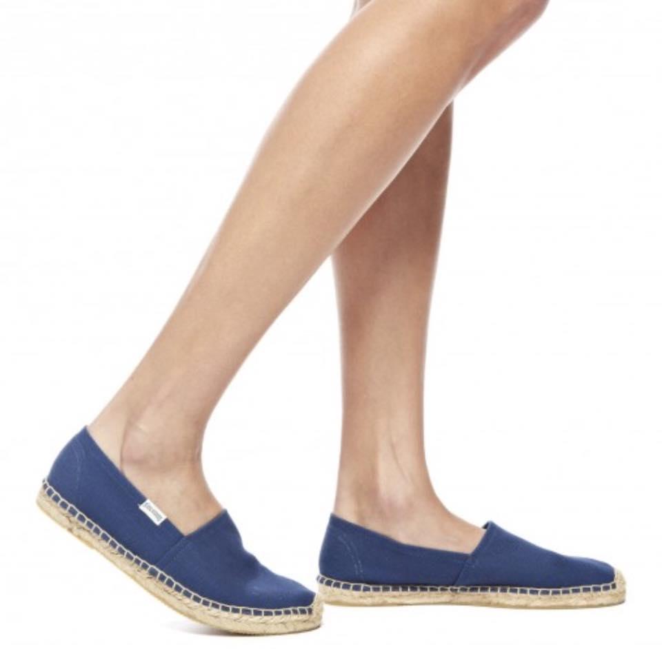 【Soludos】美國經典草編鞋-基本款草編鞋-深藍 5