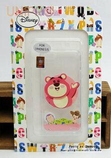 【UNIPRO】Apple iPhone 5 5S 迪士尼 熊抱哥 小熊維尼 Q版 透明 TPU 手機殼 保護套