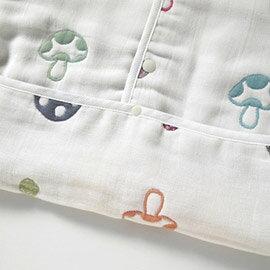 Hoppetta - 蘑菇六層紗3WAY包腳睡袍 8