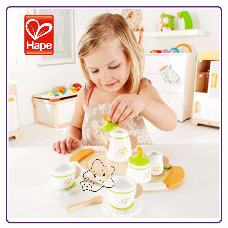 【大成婦嬰】德國 Hape 愛傑卡 英式茶杯組 E3124 0