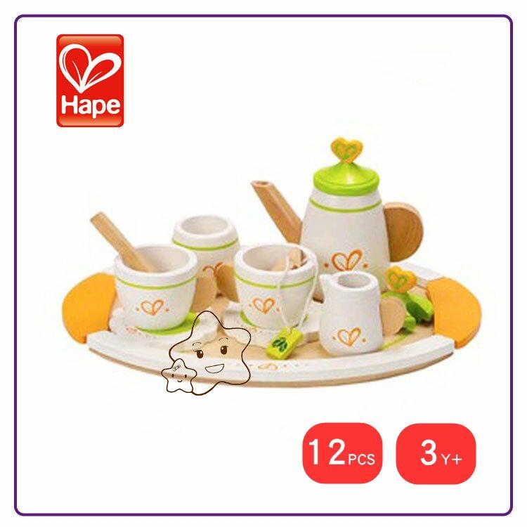 【大成婦嬰】德國 Hape 愛傑卡 英式茶杯組 E3124 1