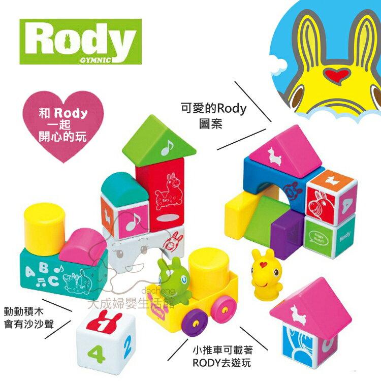 【大成婦嬰】Rody 跳跳馬 益智積木組3669 積木 1