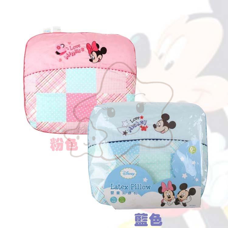 【大成婦嬰】vivi baby 迪士尼米奇、米妮透氣乳膠塑形枕 - 限時優惠好康折扣