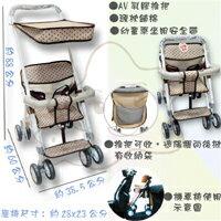 【大成婦嬰】可拆式-遮陽簡易手推車/機車椅 TT-521(運費$150) 1