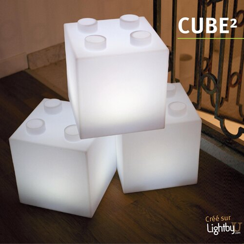 【7OCEANS七海休閒傢俱】Smart&Green 戶外燈具 CUBE² 0