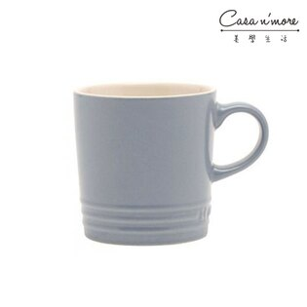 Le Creuset 馬克杯 咖啡杯 350ML礦石藍