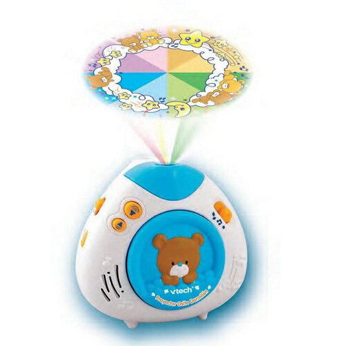 【週年慶特價66折起】美國【Vtech】寶貝熊床邊音樂投射機(藍色) 0