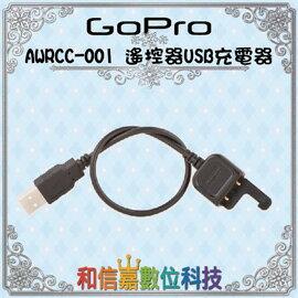 【GoPro 配件】遙控器USB充電器 AWRCC-001 Charging Cable (for Smart Remote + Wi-Fi Remote) Hero4 極限運動攝影 公司貨 原廠保固一年