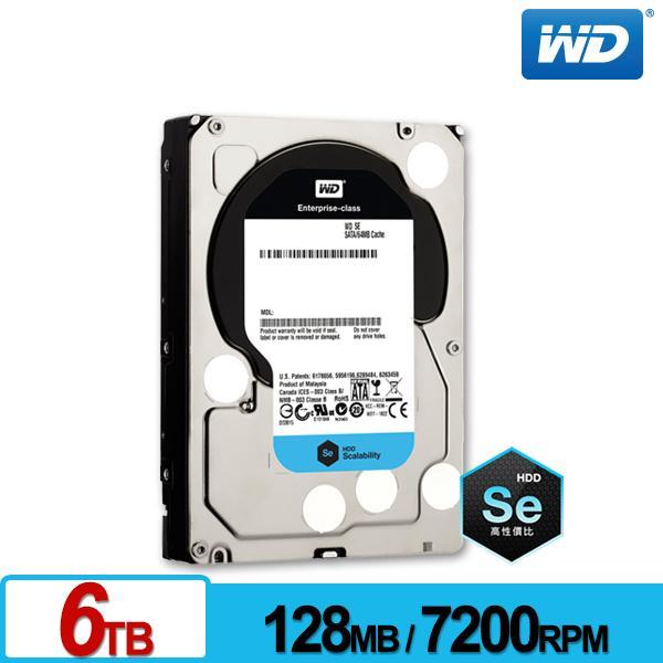 WD6001F9YZ 企業級Se 6TB 3.5吋雲端硬碟