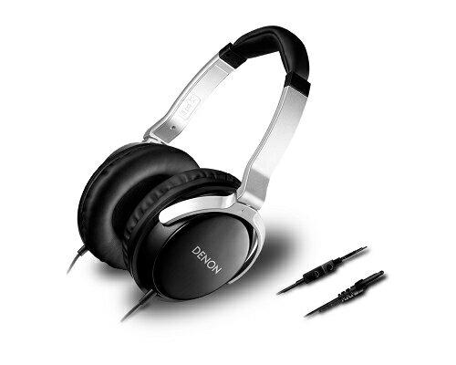 日本 DENON AH-D510R 三鍵式線控附麥克風,耳罩式耳機 附收納袋, 公司貨附保卡,保固一年