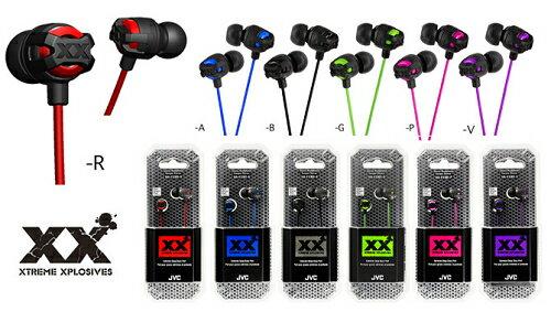 JVC HA-FX101 XX系列  重低音密閉型立體聲耳機