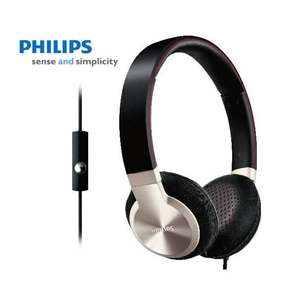 Philips 飛利浦 SHL9705A Android手機用耳罩式耳機附通話麥克風 (贈收納袋)