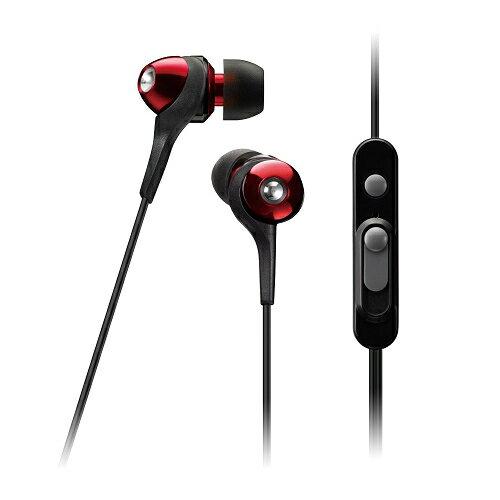日本 TDK CLEF-Urban Smart TH-ECAS351 (紅色) 二代智慧型手機專用耳道式耳機,公司貨