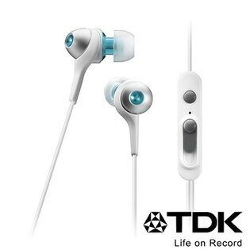 TDK CLEF-Urban Smart TH-ECAS351 (白色) 二代智慧型手機專用耳道式耳機,公司貨