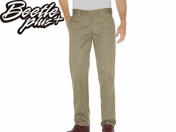 BEETLE PLUS DICKIES WP873KH PANTS 美式 873 老墨 卡其 低腰 合身 工作褲 - 限時優惠好康折扣