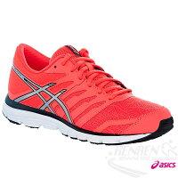 慢跑_路跑周邊商品推薦到ASICS亞瑟士 女慢跑鞋 GEL-ZARACA 4 (珊瑚粉) 2015新款 路跑 NATURAL系列
