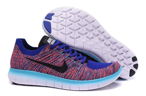NIKE FREE RN FLYKNIT 831069系列 慢跑鞋5.0針織飛線 運動鞋情侶鞋36-45