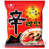 異國泡麵大賞推薦韓國原裝進口 農心辛拉麵 泡麵(單包)[KR064]