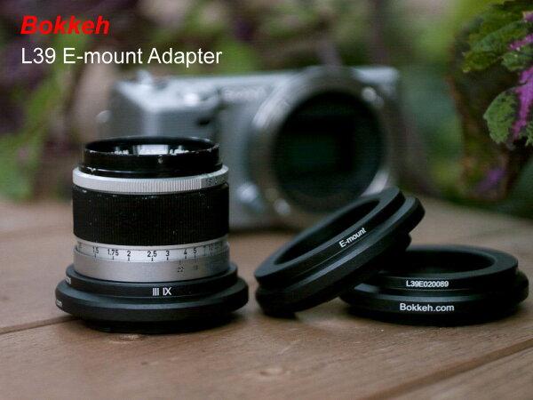 [享樂攝影] 台灣製! 黑色 L39 LTM M39 鏡頭轉接Sony E-mount 轉接環 NEX5 NEX3 MEX7 C3 5N 無限遠可合焦