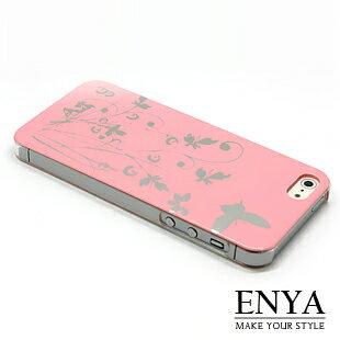iPhone5S 蝴蝶美型彩殼 手機殼 Enya恩雅 (郵寄免運)