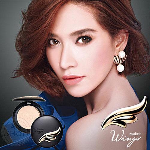 泰國 Mistine Wings羽翼粉餅 SPF25/PA++ 10g 自然膚/象牙白 【AN SHOP】