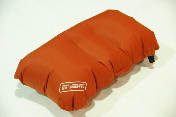 【露營趣】中和 台灣製造 嘉隆 BD-010 超輕巧充氣枕頭 登山露營旅遊 65g exped mont-bell 登玉山 雪山可參考