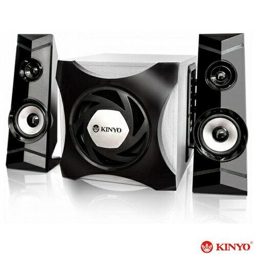 【KINYO】2.1聲道 木質中低音立體喇叭(KY7370)