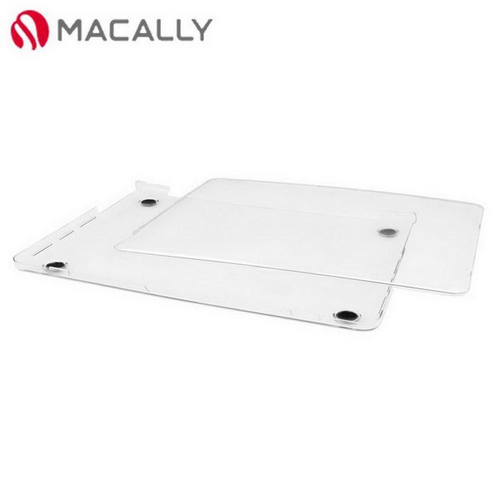 【Macally】15吋APPLE MacBook Pro透明上下蓋保護硬殼(PROSHELL15)