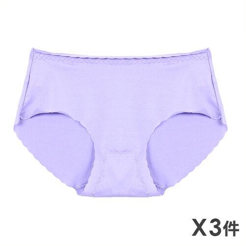 3件199免運【AJM】馬卡龍波浪無痕低腰褲 3件組(隨機色) 0