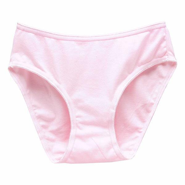 3件199免運【AJM】素色天然棉高叉三角褲 3件組(隨機色出貨) 0