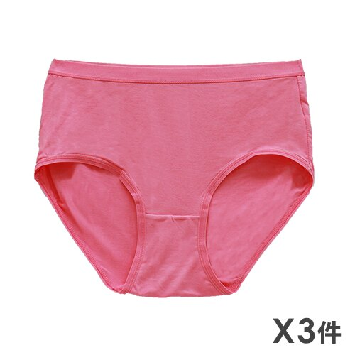 3件199免運【AJM】素面高腰三角褲 3件組 (隨機色出貨) 0