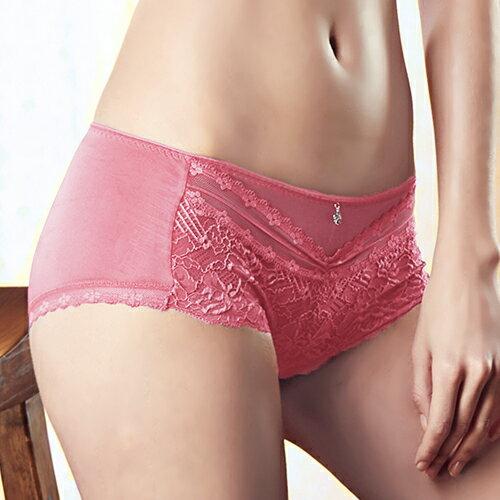 【Favori】冰絲 美塑系列平口褲 (甜心粉) 0