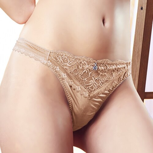 【Favori】冰絲 美塑系列丁字褲 (裸) 0