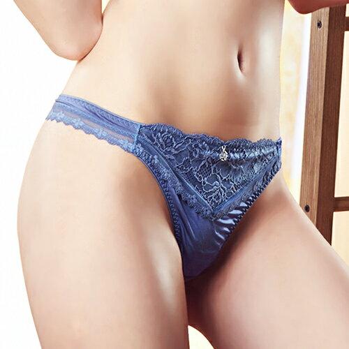 【Favori】冰絲 美塑系列丁字褲 (夢幻藍) 0