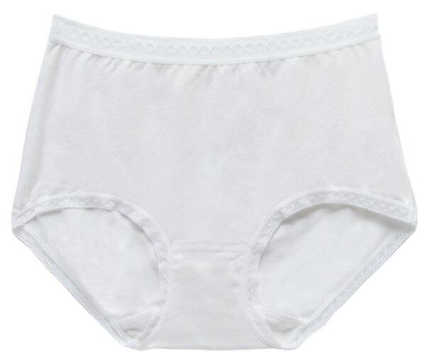 【夢蒂兒】MIT素色舒棉中腰三角褲(香檳白) 1