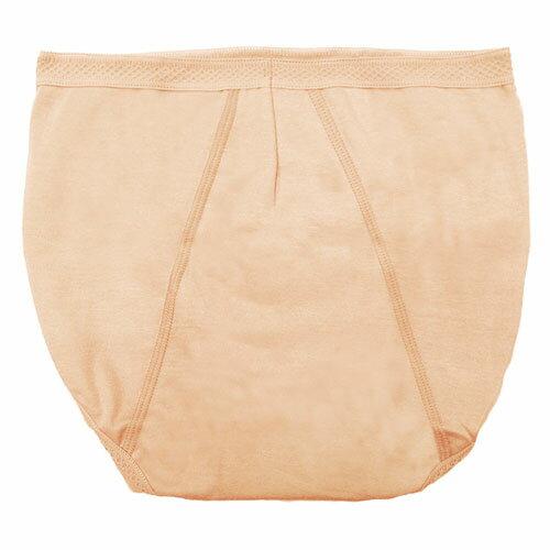【AJM】MIT素色防漏高腰三角生理褲(膚) 1