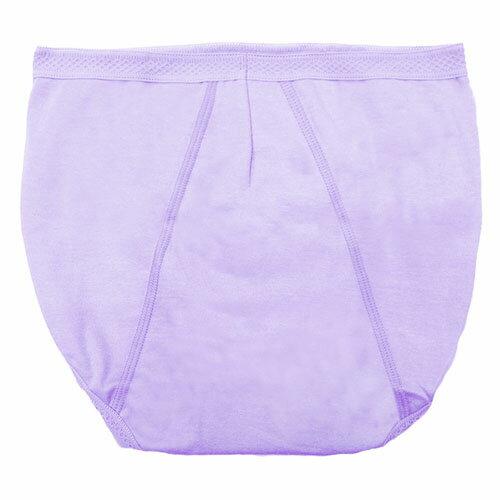 【AJM】MIT素色防漏高腰三角生理褲(紫) 1