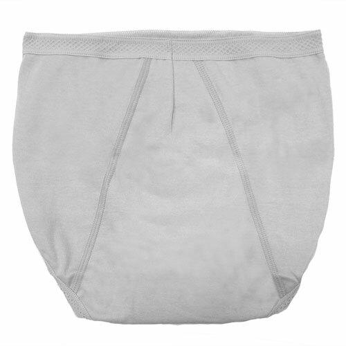 【AJM】MIT素色防漏高腰三角生理褲(灰) 1