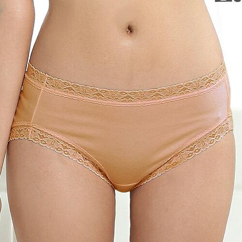 【AJM】素色棉質舒適低腰平口褲(膚) 0