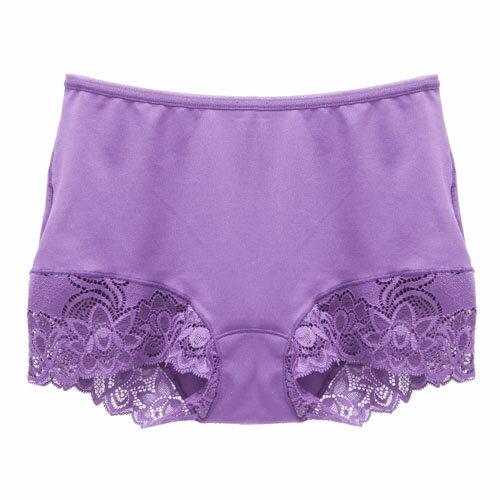 【AJM】MIT輕柔舒適竹炭中腰平口褲(紫羅蘭) 1