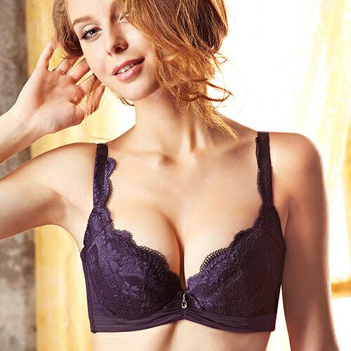 【Favori】極致 美塑系列BCD罩杯內衣 (富貴紫) 0
