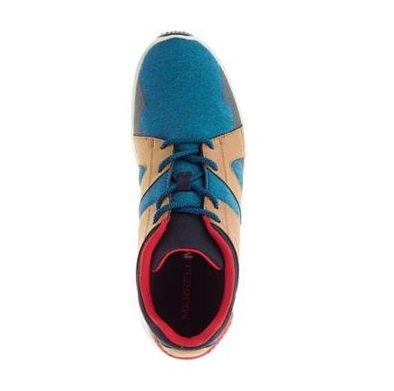 Merrell 1SIX8 LACE 男 休閒鞋 藍咖啡 4