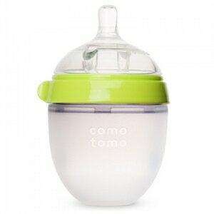 韓國【Comotomo】矽膠奶瓶 150ML-1入裝(綠)  - 限時優惠好康折扣