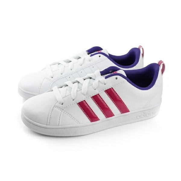 adidas 板鞋 女鞋 白紅色 no308