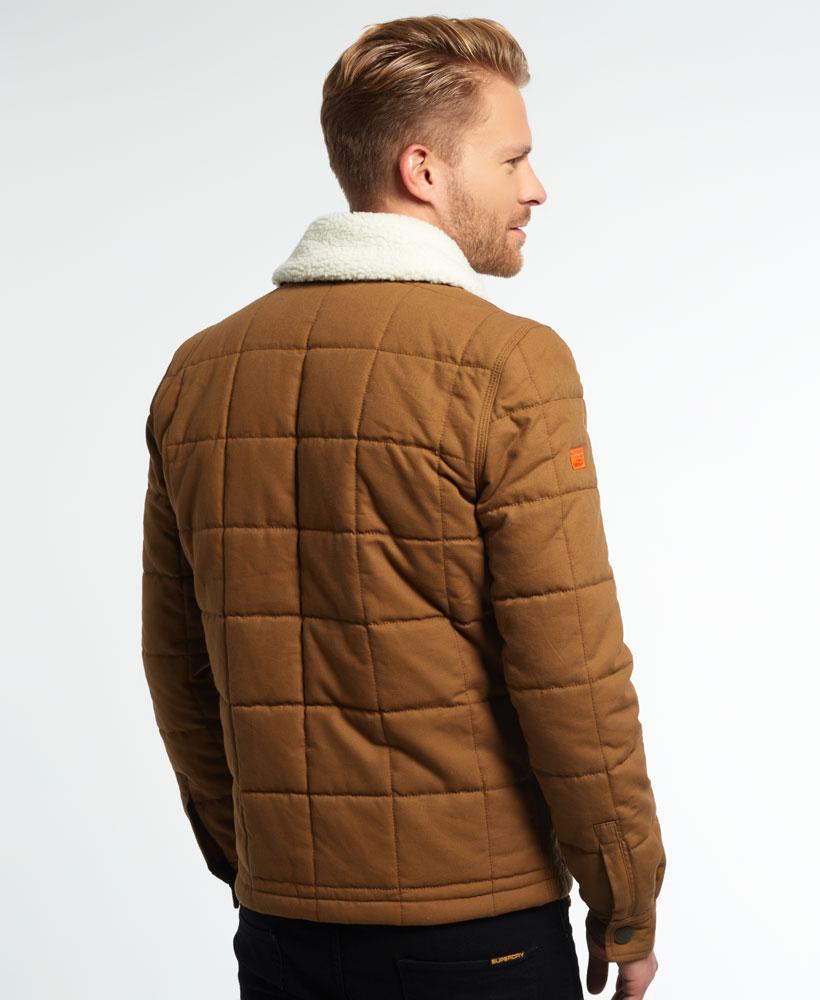 [男款] 英國代購 極度乾燥 Superdry Redford 男士風衣戶外休閒外套夾克 防水 防風 保暖 棕褐色 2