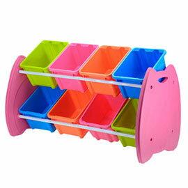 喵頭鷹玩具整理箱(六格)