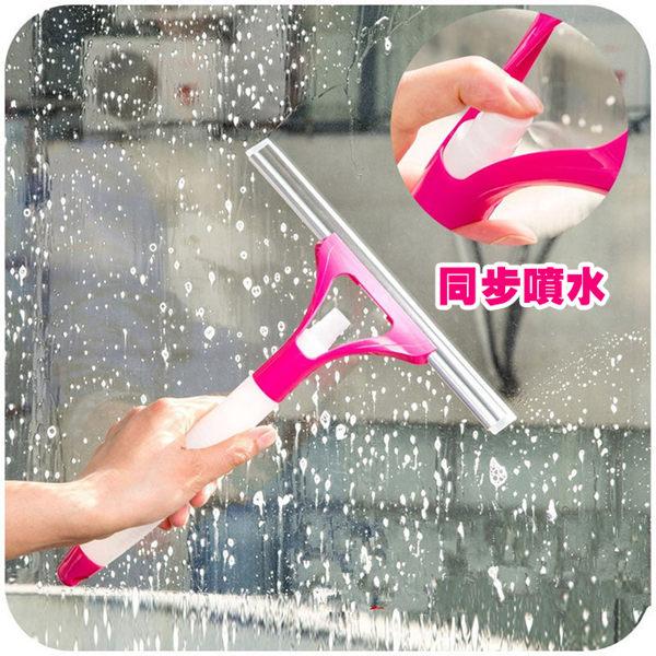 PS MallT噴水窗刮 多用途噴水玻璃清潔器【J2307】
