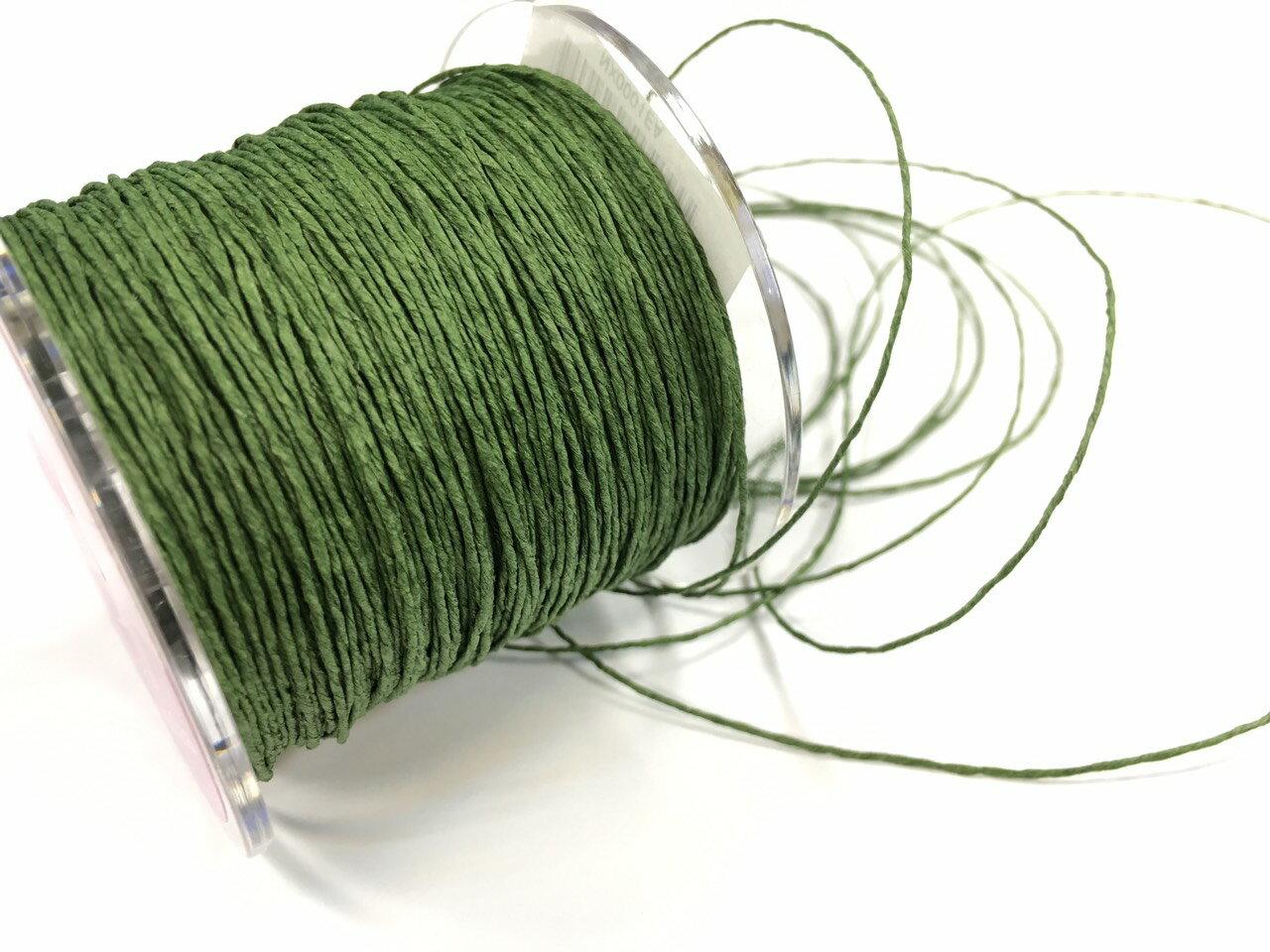 紙繩緞帶 1mm 100碼裝 (5色) 1